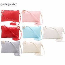 THINKTHENDO New Fashion Women Lady Satchel Handbag Shoulder Tote Messenger Crossbody Bag White/Red/Blue/Pink/Gray Color(China)