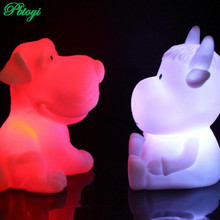 Nightlight Zodiac Rat Ox Tiger Rabbit Snakes Pig Horse Sheep Monkey Chick Dog Led Lights Wholesale PB0150