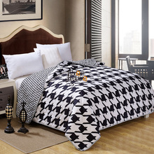 Black white Origami Quilt Cute Design Printed Spring Summer Autumn Comforter Duvet for Kids/Adults Bedroom Twin Queen King size