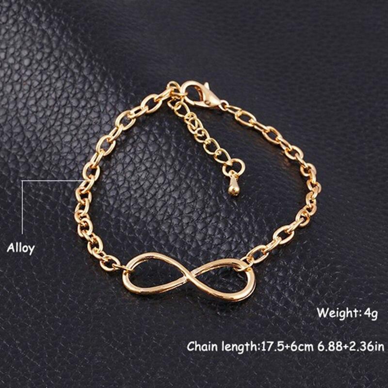 geekoplanet.com - Metal Cross Infinity Bracelet