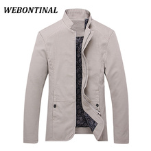 WEBONTINAL Hot Sale 2017 Brand Casual Male Windbreaker Man Trench Coat Jacket Men Spring Autumn Style Quality Overcoat Clothing