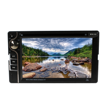 2 Din 6.2 Inch Car DVD Player Audio Video Multimedia Players For All Cars With USB/SD/DISC/MP4/DIVX/DVD/VCD SH6281(China)