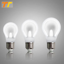 LED bulb light E27 bulb flat Bulb SMD 2835 2017 new arrive AC 230V 6W 9W 12W High Bright Lampada Energy Saving White color