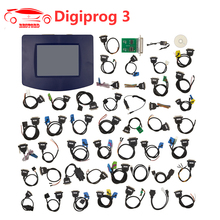 Digiprog III V4.94 Digiprog 3 Odometer Programmer Mileage correction tool with all full set cables Odometer Adjustment Tool(China)