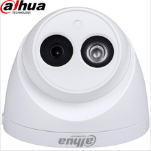 Dahua IPC-HDW4431C-A Network 4MP  IP Security Camera Support 50M IR Night Vision Camera PoE Camera Built-in Mic Mini Dome Camera