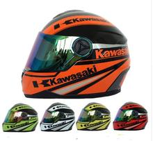 (1 pz & 4 color) High quality Kawasaki front motorcycle brand full helmet motorcycle helmet 09