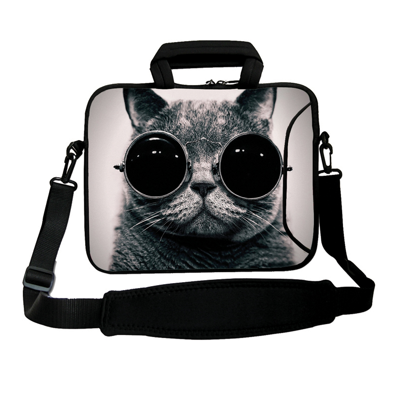 13 Unisex Sunglasses Cat Anti-shock Messenger Shoulder Neoprene Cases Bags For Macbook Pro Retina/Air 13.3 Notebook Laptops<br><br>Aliexpress