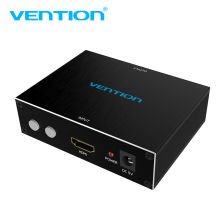 Vention HDMI To RCA With AV CVBS S-Video Adapter HDMI To AV Converter 720P 1080P For PC PS3 Xbox HDTV VCR DVD HDMI RCA Converter(China)