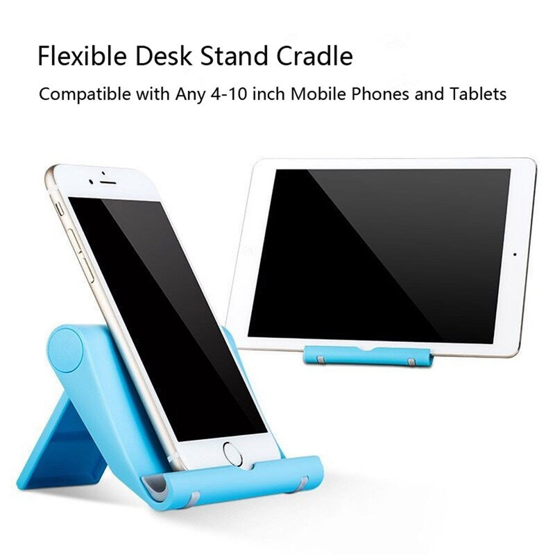 Fimilef Desktop Phone Holder Stand Flexible Folding Mobile Phone Stand General Bracket for iPhone for Xiaomi Cell Phone Tablet (28)