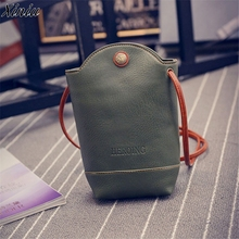 Women Messenger Bags Graceful Green Slim Shoulder Bags Small Body Handbag Malas De Mulher 2017 Hot #9612