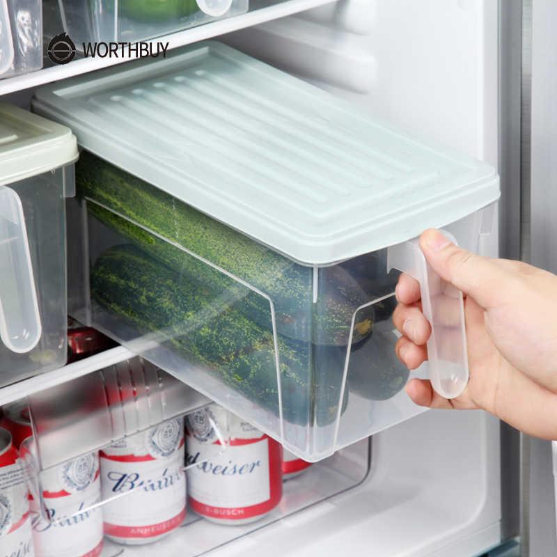 Worthbuy Refrigerator Organizer Bpa Free Plastic Kitchen Storage