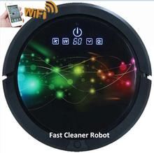 3350MAH Lithium battery 150ML Water Tank Robot Vacuum Cleaner Wireless With controlled by your Smartphone