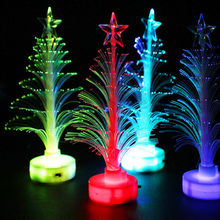 Fashion 1PC Xmas Tree Color Changing LED Light Lamp Party Christmas Decoration Home Decor Gift