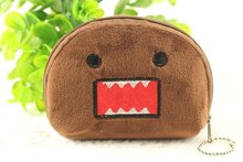 10PCS Domo Kun Plush Coin BAG Purse & Wallet Pouch Bag Case ; Storage Purse Case Pouch BAG Wallet Handbag(China)