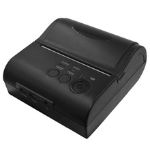 Portable 80 mm bluetooth thermal printer Andriod windows Mini wireless bluetooth Receipt Printer 80 pos system printer