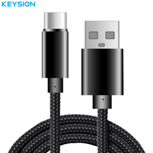 KEYSION USB Type C Cable USB Type-C Chager Data Cable USB C Mobile Phone Cable for Samsung S8 Plus for Xiaomi OnePlus 3 P10 MAC