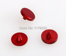 3pcs/1set Red concave Soft Shutter Release button For Fuji X100 100s X20 X10 Leica M4 M6 M7 SLR cameras