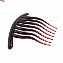 10pcs/lot New Fashion Hair Accessory Wheel Fork Comb Plate Pin Clip Ornaments #H027#(China)