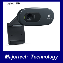 Logitech C270 HD Vid 720P Black Webcam With MIC Micphone Video Calling For Android TV Oiginal Webcams