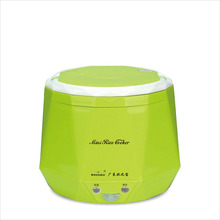 1.3L Portable Electric Mini Rice Cooker Lunch Box Microwave Smart Rice Cooker Small  220V For House 12V/24V For Car/Truck Cooker
