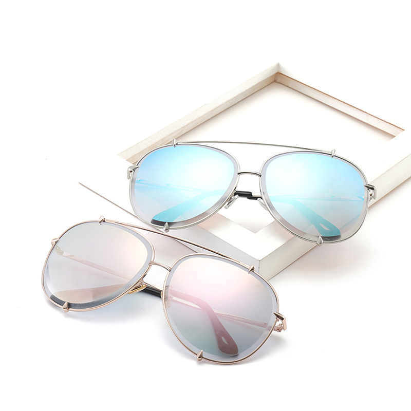 Metal Mens Sunglasses Mirror Sunglasses Women 2018 New Metal Wholesale Sunglasses for Driving and Fishing DF17034-5
