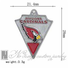 Arizona american football world championship contenders cardinals team charms chains dangle pendants ON SALE NE0967(China)