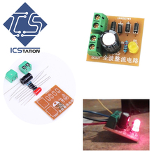 5Pcs AC To DC IN4007 Bridge Rectifier Suite Full Wave Rectifier Circuit Board Converter For DIY Kits(China)