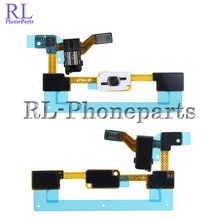 10pcs/lot Home Button + Sensor keypad For Samsung Galaxy J5 J500 J500F J5008 Audio Jack Headphone Flex Cable Ribbon