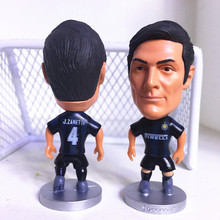 Soccerwe Fixed Base 4 Zanetti Doll ( Inter Classic ) Blue Black Kit Classic Gift(China)