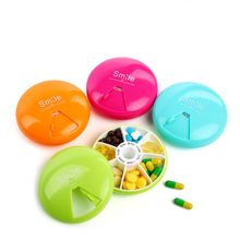 7 Day Weekly Pill Travel Medicine Box Dispenser Capsule Holder Organiser Case Pill Organizer(China)