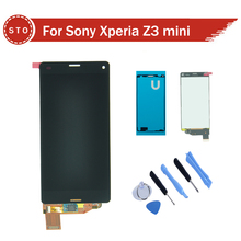 For Sony Xperia Z3 compact Z3 mini D5803 D5833 LCD Display with Touch Screen Digitizer Assembly +adhesive Sticker +Tools