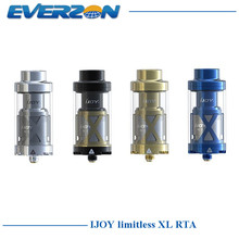 Original Ijoy Limitless XL RTA Electronic Cigarette Atomizer 4ml tank 25mm Diameter Top Filling System