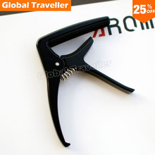 1 piece  Popular style AROMA AC-21 Metal Guitar Capo for Folk/Acoustic/Classical Guitar, make beautiful music