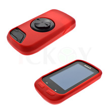 Outdoor Road/Mountain Bike Cycling Red Case Bicycle Rubber Anti-Knock Case For Garmin Training GPS Edge 1000 / Edge Explore 1000