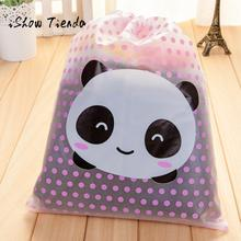 New Cute Waterproof Travel Cosmetic Makeup Bag Toiletry Storage Pouch Travel Bag Portable Tote Drawstring Bag Laundry Organizer(China)