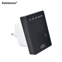 Kebidumei Wireless-N Network Router AP WIFI Repeater Amplifier LAN Client Bridge IEEE 802.11b/g/n 300Mbps Singnal Booster