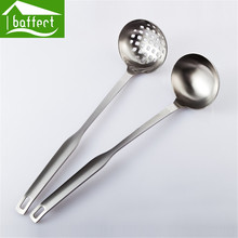 Dual Purpose Practical New Mesh Strainers Stainless Steel Colander Cooking Tools Soup Scoop Colander Skimmer  Accessories