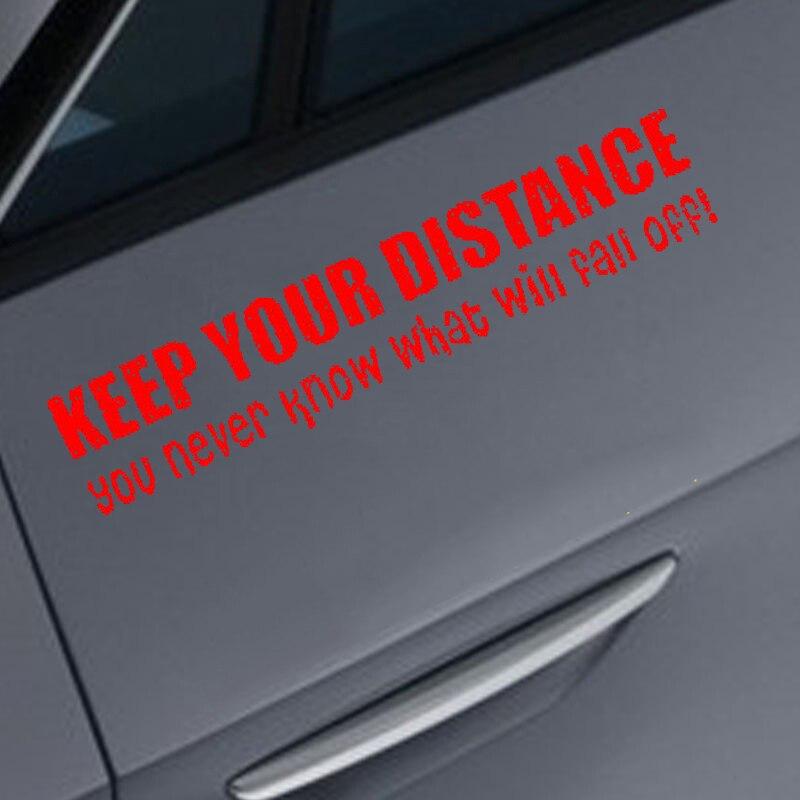 BACK OFF BUMPER HUMPER Tailgate Funny Car Truck Window Vinyl Decal Sticker