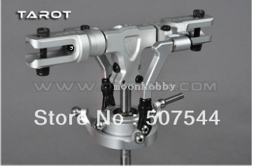 Tarot 450 DFC Split Lock Rotor Head Assembly Silver TL48025-2 tarot 450 DFC parts free shipping with tracking<br>