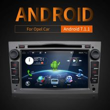 Android 7,1 2Din dvd-автомагнитолы навигации WI-FI 3g DAB + OBD2 для Vauxhall Opel Astra H G Vectra Антара Zafira Corsa мультимедиа(China)