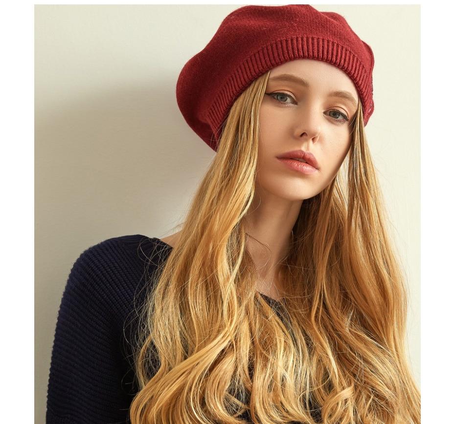 قبعات نسائية عالية الجودة 16