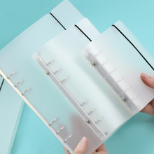 MUJI STYLE A variety of matte binder loose strap loose leaf inner core  A6 A7 notebook  diary a5 planner office supplies