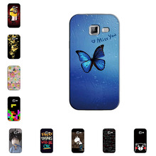 Hard Case for Samsung Galaxy Y Duos S6102 GT-S6102 Slim Back Cover UV Painting PC Shield Protective Case Skin Bags