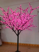 Christmas New year LED Cherry Blossom Tree 1040 pcs LED Bulbs 2m/6.5ft Height 110/220VAC Rainproof Outdoor Usage