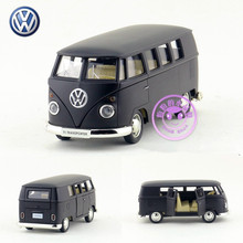 Free Shipping/1:36 Scale Germany Volkswagen T1 Transport Bus/Classical Educational Model/Pull back toy car/For gift/New