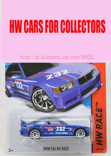 Hot Sale 2016 Hot 1:64 car Wheels BM E36 M3 race blue cars Models Metal Diecast Car Collection Kids Toys Vehicle