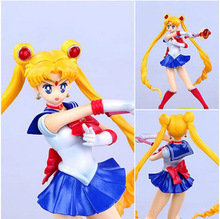 20CM Sailor Moon Figuarts Action Figure Sailor Moon Tamashi Nations With Box Kids Toys Collection Toy