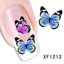Butterfuly Design Nails Sticker Nail Art Foil Transfer Korea Nail Accessories Nails Arts Decals Decorations Stickers