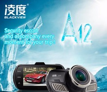 BLACKVIEW A12 Car Camera Ambarella A12 mini DVR Full HD 2560*1440P GPS Logger video Recorder dashcam Black Box with GPS function(China)