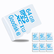 White Micro sd card & memory card & mini sd card 8GB C10 TF Card 16GB/32GB/64G/128G class10 microsd for Driving recorder microsd